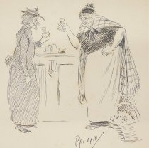 Image of [Drinking women] - May, Phil, 1864-1903